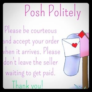 Other - Please ACCEPT Your Order When It Arrives ☺️